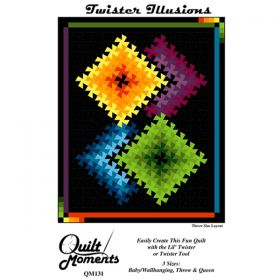 Twister Illusions Quilt Pattern