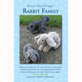 Rabbit Family Figure Pattern