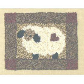 SHEEP PUNCHNEEDLE PATTERN