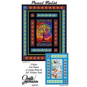 Panel Twist Quilt Pattern