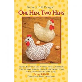 One Hen, Two Hens Figure Pattern
