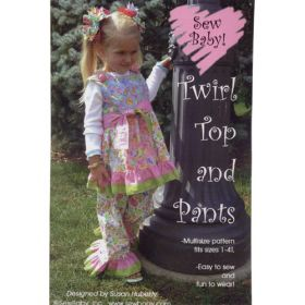 TWIRL TOP AND PANTS
