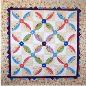 Pinwheels and Posies Quilt Pattern