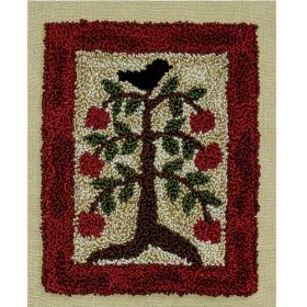 Apple Tree Punchneedle Pattern