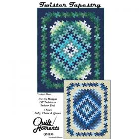 Twister Tapestry Quilt Pattern