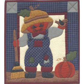 PUMPKIN HEAD SCARECROW COMPLETE KIT