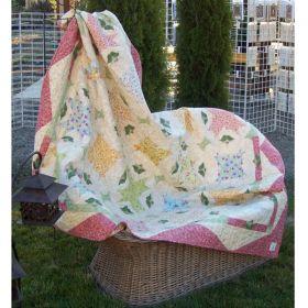 Stashbuster Stars &  Rosebuds Quilt Pattern