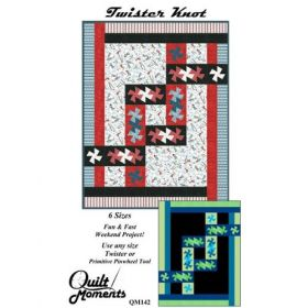 Twister Knot  Quilt Pattern