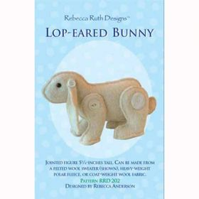 Lop-Eared Bunny Figure Pattern