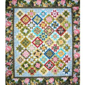 Kensington Kaleidoscope Quilt Pattern