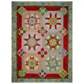 Kaleidoscope Garden Quilt Pattern