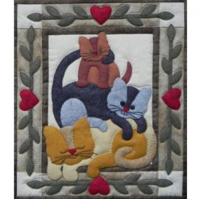 Cat Stack Quilt Kit
