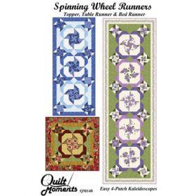 Spinning Wheel Runners Quilt Pattern