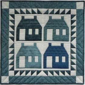 Houses Wall Quilt Pattern