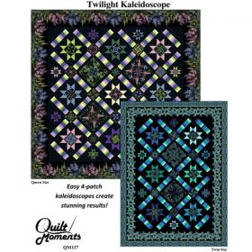 Twilight Kaleidoscope Quilt Pattern
