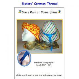 Come Rain or Come Shine Childs' Hat Pattern