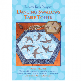 Dancing Swallows Table Topper Quilt Pattern