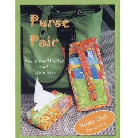 Purse Pair Quilt Pattern