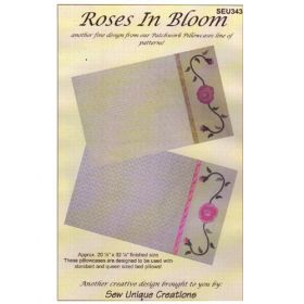 ROSES IN BLOOM QUILT PATTERN