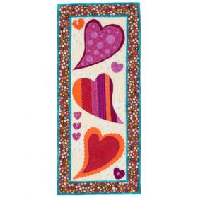 Little Bits of Love Banner and Runner Quilt Pattern
