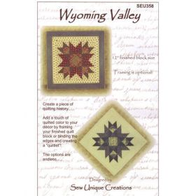 QUILTLET - WYOMING VALLEY QUILT PATTERN