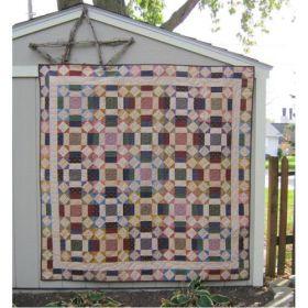 Paper Chain Lap Quilt Pattern