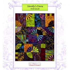 Sandy's Fans Wall Quilt Pattern