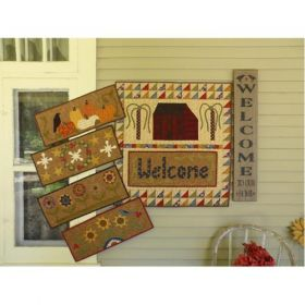 Country Home Sweet Home Qall Hanging Quilt Pattern