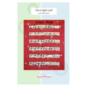 Silent NIght Quilt and Table Runner Pattern