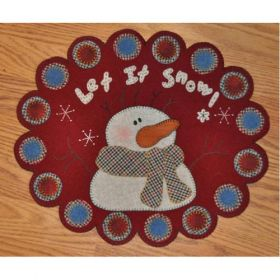 Let It Snow Pennyrug Quilt Pattern
