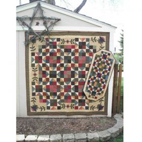 Floating Stars Quilt  & Runner Pattern