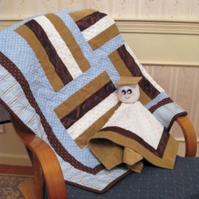 Baby S'mores Quilt & Plushie