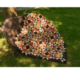Starlit Path Lap Quilt Pattern