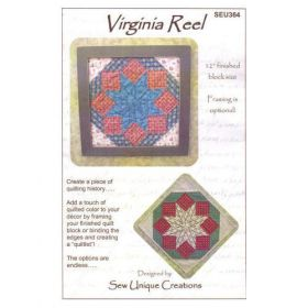 QUILTLET - VIRGINIA REEL QUILT PATTERN