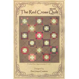 THE RED CROSS QUILT QUILT PATTERN