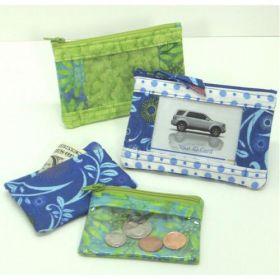 Girls Go Shopping Wallet & Coin Purse Quilt Pattern