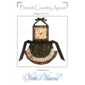 French Country Apron Quilt Pattern