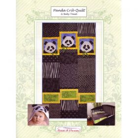 Panda  Crib Quilt & Baby Towel