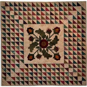 Spirit of the Season Wall Hanging Quilt Pattern