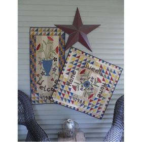 Greetings! Table Topper Quilt Pattern