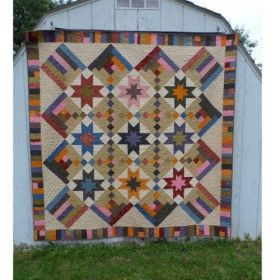 Skylight Lap Quilt Pattern