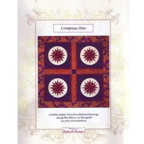 Compass Star Quilt Pattern