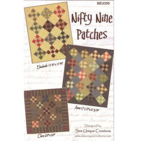 NIFTY NINE PATCHES QUILT PATTERN