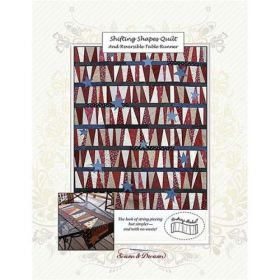 Shifting Shapes & Reversible Table Runner Quilt Pattern