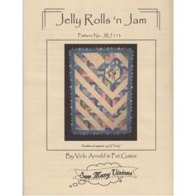 Jelly Rolls 'n Jam Wallhanging Quilt Pattern