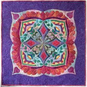 Gypsy Dance Wall Hanging Quilt Pattern