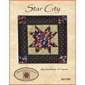 Star City Mini Quilt Pattern