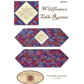 Wildflowers Table Runner Quilt Pattern