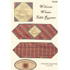 Welcome Winter Table Runner Quilt Pattern