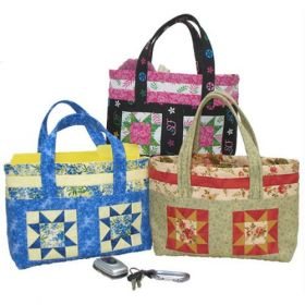 Four Star Tote Quilt Pattern